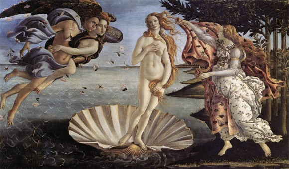 The Birth of Venus - Botticelli (1485)