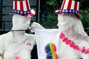 Christopher Street Act I | Christopher Park | Patriotic Pride | Segal's Gay Liberation